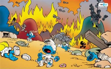 Is it the end for The Smurfville Bliggas? Smurfsbombed
