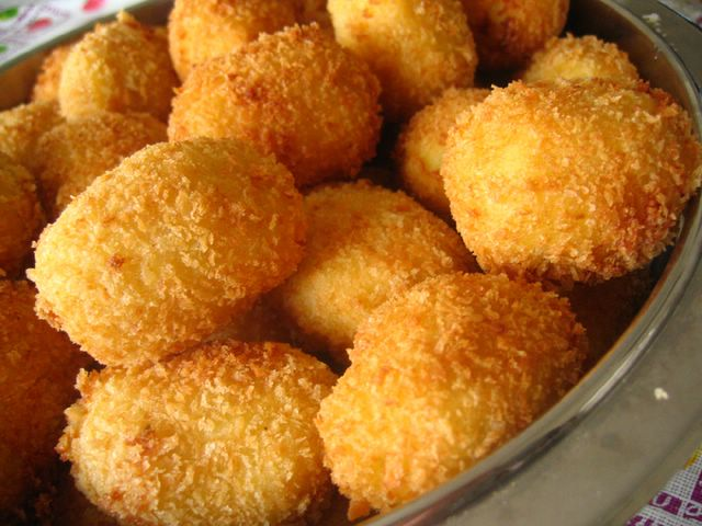 More of my potato croquettes